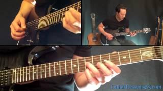Hangar 18 Guitar Lesson - Megadeth - Famous Riffs