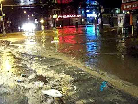 Hurricane Sandy Hits Brighton Beach, Brooklyn N.Y