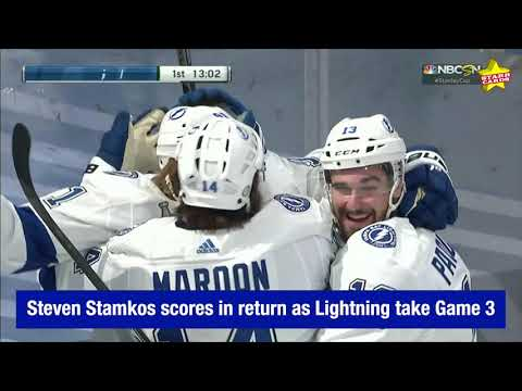 Tampa Bay Lightning get goal from Steven Stamkos as they beat ...
