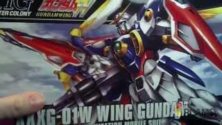 Unboxing: 1/144 HG Wing Gundam