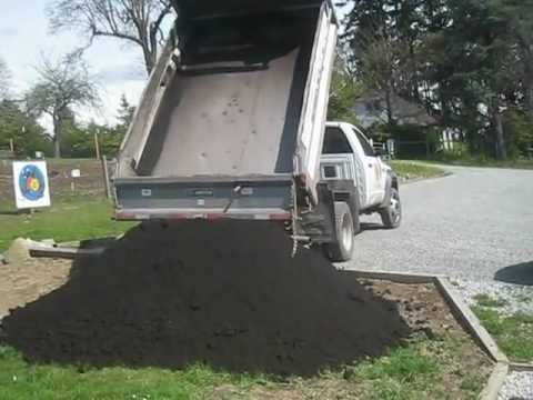 topsoil delivery salt spring island youtube