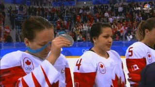 Salty Canadian Women's Hockey Player Ri...