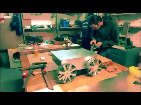 Tesla Surveyor Rover Construction