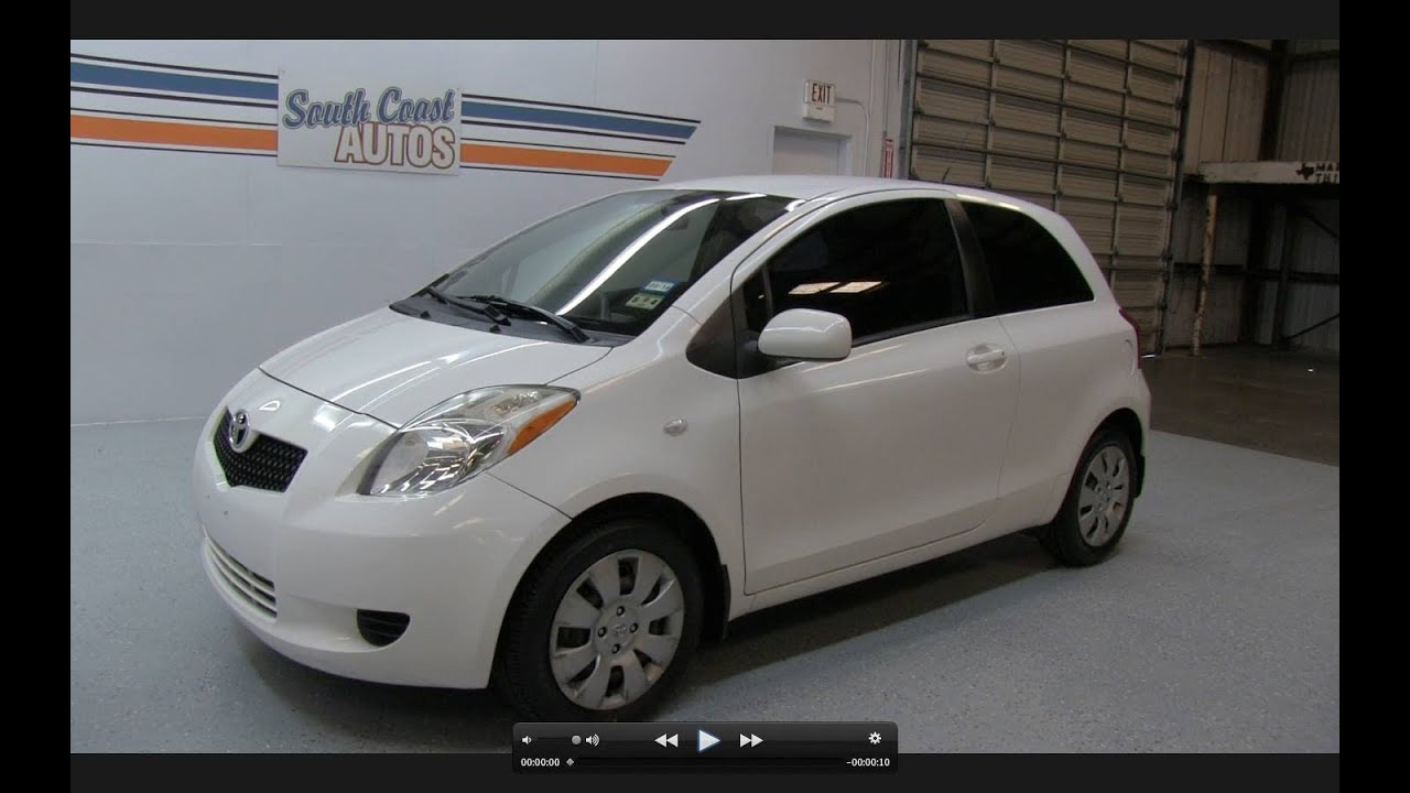 2007 Toyota Yaris Liftback Start Up Exhaust And In Depth Tour