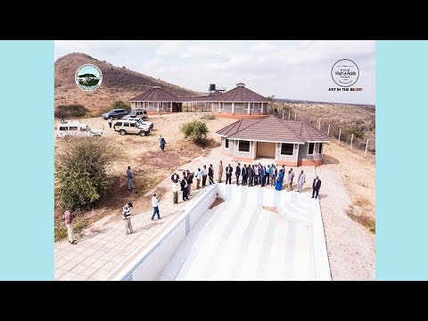 H.E. MOHAMUD M. ALI CHECKS PROGRESS OF BONGOLE RESORT