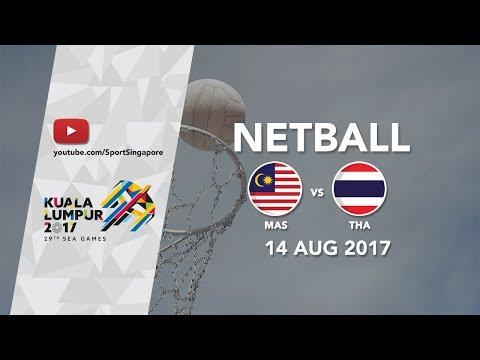 Netball: Malaysia 🇲🇾 vs Thailand 🇹🇭   29th SEA Games 2017
