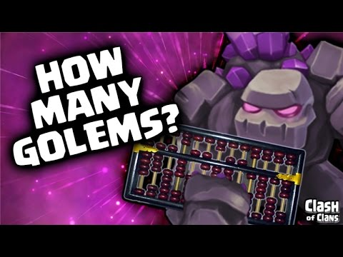 """""""Golem Gangs Attack!"""" Multiple Golem Strategy in Clash of Clans"""
