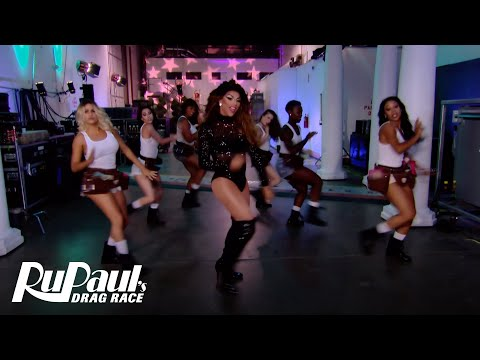 Kitty Girl Music  ft Trixie Mattel, Shangela & More!   RuPauls Drag All Stars 3