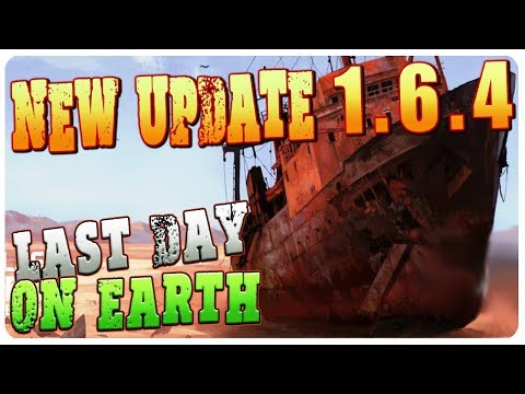 NEW UPDATE 1.6.4 - SMUGGLERS CAMP, SHIPWRECK, NEW ARMOR! | Last Day On Earth Survival 1.6.4