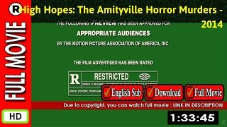 Watch Online : High Hopes  The Amityville Horror Murders (2014 TV Movie)