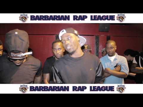 Kid Chaos Vs Hazeman Barbarian Rap League Battle
