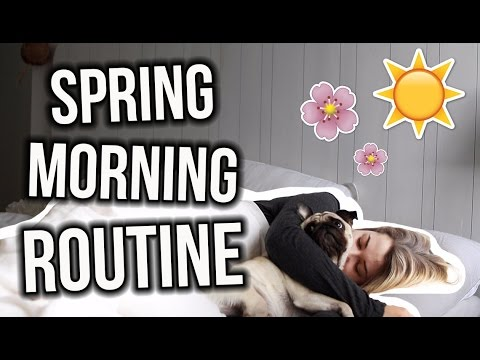 SPRING MORNING ROUTINE 2017