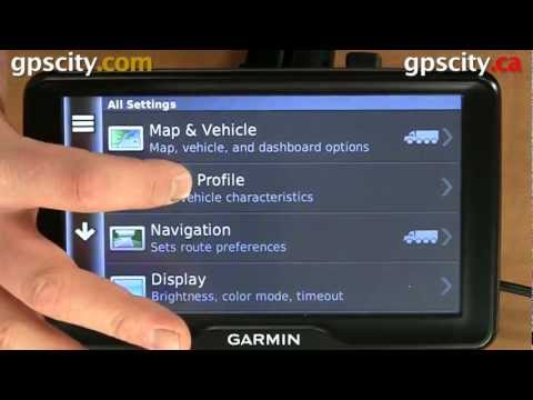 Tutorial - The Truck Profile in the Garmin dezl 760 LMT Trucking and