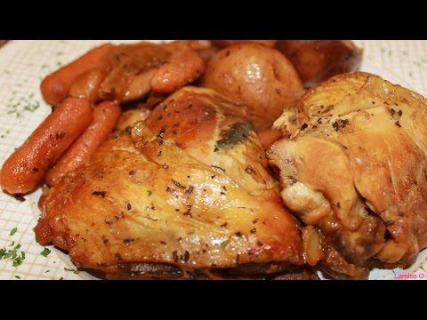 Slow Cooker Honey Garlic Chicken    Episode 31