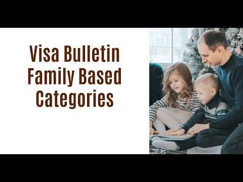 Visa Bulletin: Family-Based Categories
