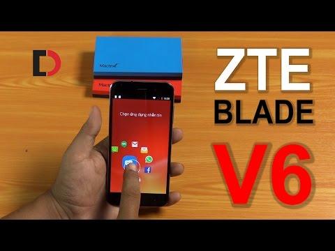 ZTE Blade V6 - Mở hộp và Đánh giá: Giao diện cực đẹp, chạy mượt mà