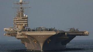 Самые большие и мощные авианосцы в мире! Морские гиганты в деле!
