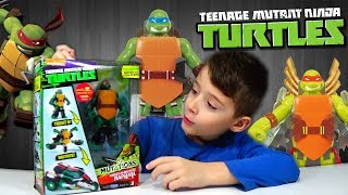 Χελωνονιτζάκια Φιγούρα Ραφαέλ Mutation που μεταμορφώνεται σε μηχανη Nickelodeon παιχνιδια