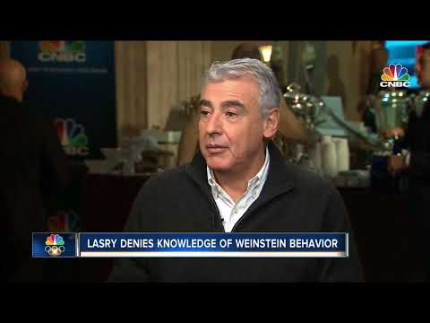 Lasry claims 'no knowledge' of Weinstein abuse