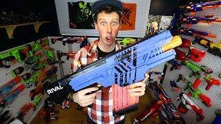 The NERF Gun Game 5.0 Blasters!