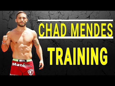 Chad Mendes Training 2017/2018 •HD•