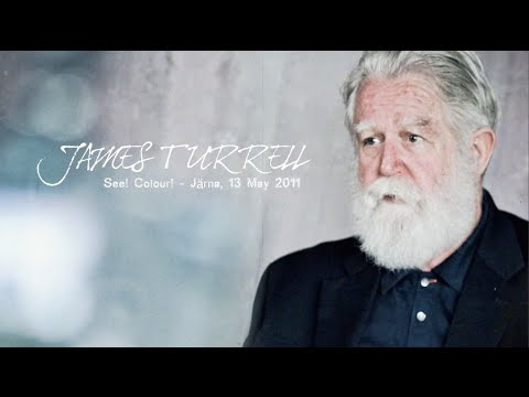 James Turrell Interview (Jarna, Sweden)