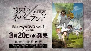 3月20日発売「約束のネバーランド」ブルーレイ&DVD第1巻紹介PV ブルーレイ 検索動画 21