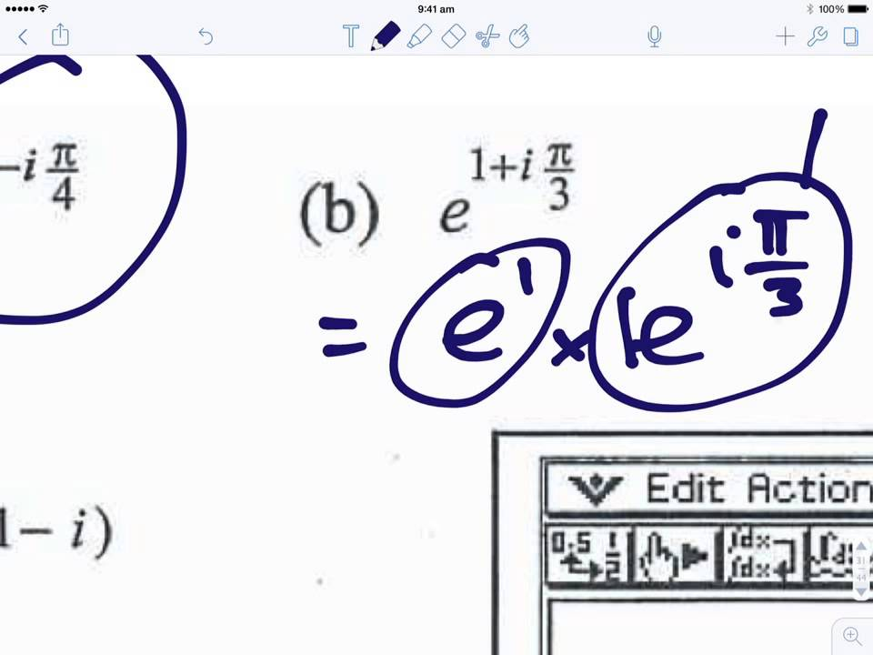Exponential form of a complex number - YouTube