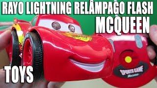 RAYO McQUEEN CARS 2 BIG WHEELS RADIO CONTROL 360º  TOYS JUGUETES BRINQUEDOS