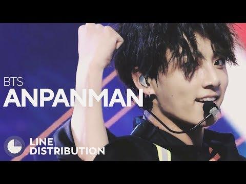 BTS - Anpanman (Performance Ver.) (Line Distribution)