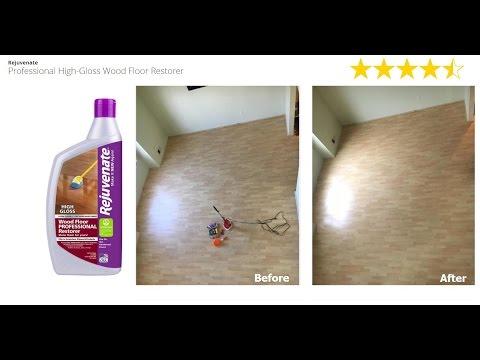 Rejuvenate - Professional High-Gloss Wood Floor Restorer