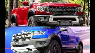 2019 Chevrolet Colorado ZR2 Bison VS 2018 Ford Ranger Raptor