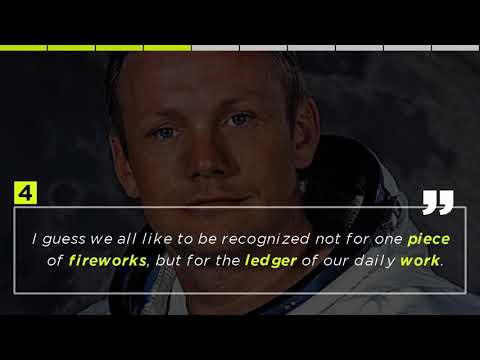 Top 10 Quotes by Neil Armstrong - The first person to walk on the moon...