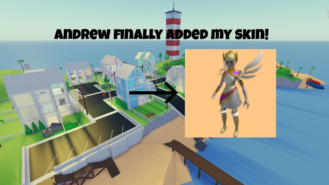 Andrew finally added this skin to Strucid... - YouTube