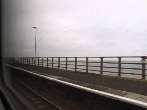 Riviera Line & The Dawlish Seawall in Devon South West England