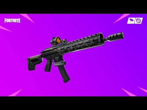 Fortnite Patch Notes V9.01 New Assault Rifle and Vaulted SMG