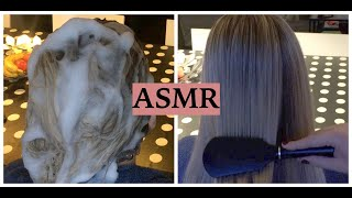 ASMR Relaxing Hair Play, No Talking (Hair Washing, Blow Drying, Hair Straightening & Hair Brushing)