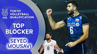 Seyed Mousavi is on fire at the net! | Top Scorer | Volleyball Olympic Qualification 2019