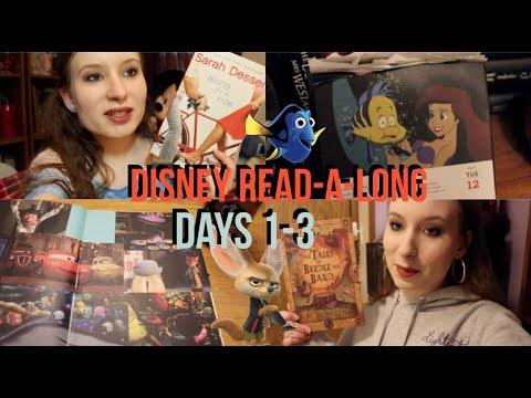 Reading Vlog // Disney Read-A-Long // Days 1-3