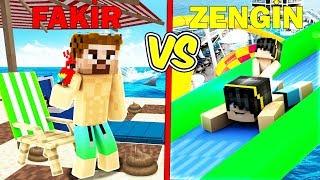 ZENGİN DENİZİ VS FAKİR DENİZİ! 😱 - Minecraft