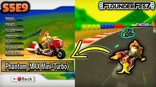 The Battle of MAX MINI TURBO Vehicles in Mario Kart Wii