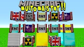 AS MAIS NOVAS TNT DO MINECRAFT 1.12.2