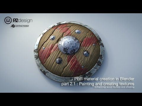 PBR MATERIAL CREATION IN BLENDER   PART02 02 ENHANCING WOOD TEXTURE