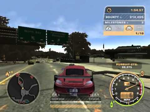 NFSMW : Getting Impounded!