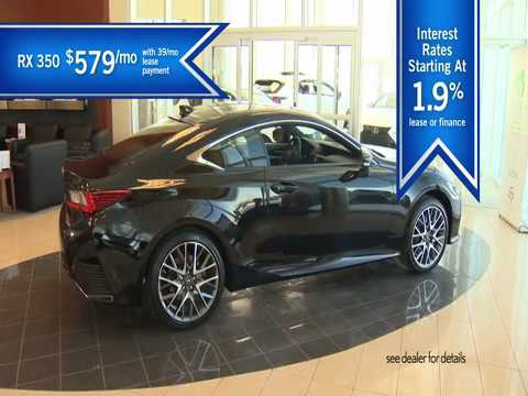 Lexus of Barrie - RX350 June Ad