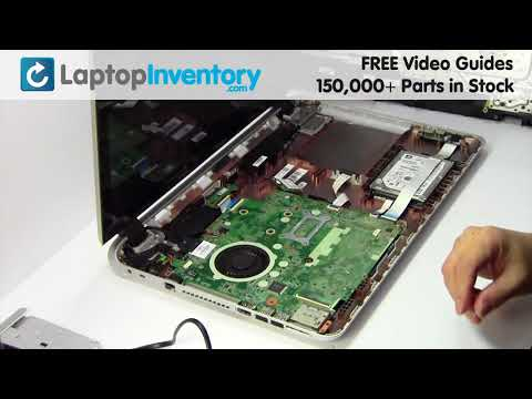 HP PAVILION 17-F Fan Replacement - Heatsink Motherboard Installation Guide 15-P 17T 17Z