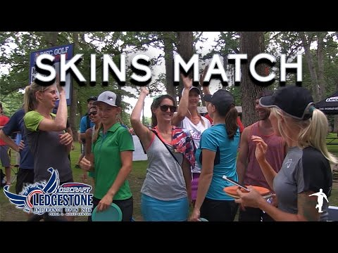 Skins Match - Top 4 Women - Valarie Jenkins, Paige Pierce, Sarah Hokom, Catrina Allen