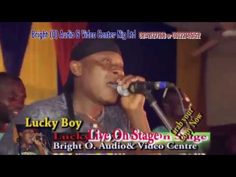 Lucky  Boy & his African talents  Live on stage with Grace
