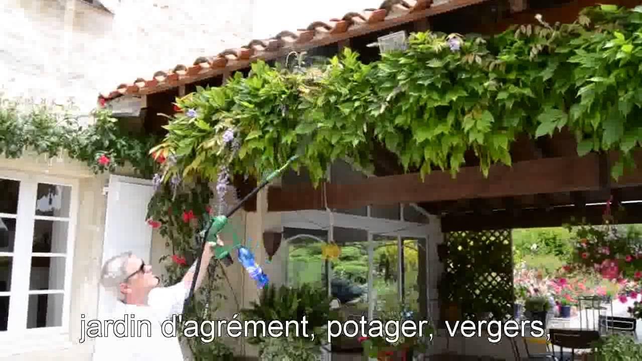 Pulvérisateur électrique Ecojet Youtube