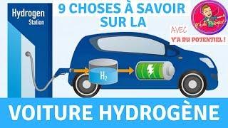 9 CHOSES À SAVOIR sur la Voiture à Hydrogène !